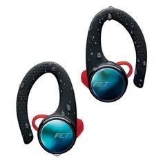 Наушники PLANTRONICS BackBeat Fit 3100, Bluetooth, вкладыши, черный матовый/красный [211855-99]