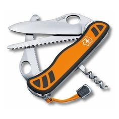 Складной нож VICTORINOX Hunter XT One Hand, 6 функций, 111мм, оранжевый / черный