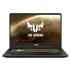 "Ноутбук ASUS TUF Gaming FX705DT-AU056T, 17.3"", IPS, AMD Ryzen 5 3550H 2.1ГГц, 8Гб, 512Гб SSD, nVidia GeForce GTX 1650 - 4096 Мб, Windows 10, 90NR02B1-M02060, черный"