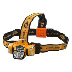 Налобный фонарь ACECAMP Extreme, оранжевый / черный, 1Вт [1035]
