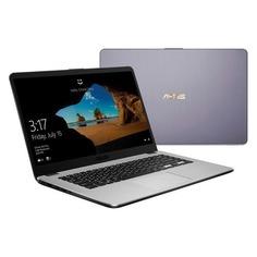 "Ноутбук ASUS VivoBook X505ZA-BQ072, 15.6"", AMD Ryzen 3 2300U 2.0ГГц, 8Гб, 256Гб SSD, AMD Radeon Vega 6, Endless, 90NB0I11-M13690, серый"