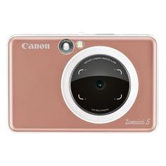 Цифровой фотоаппарат CANON Zoemini S, розовый