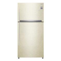 Холодильник LG GR-H802HEHZ, двухкамерный, бежевый