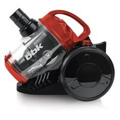 Пылесос BBK BV1503, 2000Вт, черный/красный