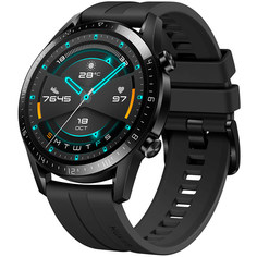 Смарт-часы Huawei Watch GT2 Matte Black, рем. Black (LTN-B19)