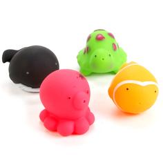 Игрушка для ванной Играем Вместе 4 водных обитателей
