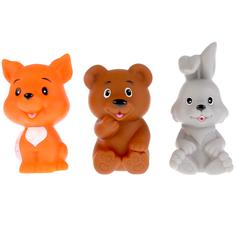 Игрушка для ванной Играем Вместе Заяц+лиса+мишка