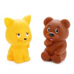Игрушка для ванной Играем Вместе Кот+мишка