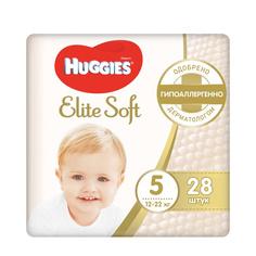 Подгузники Huggies Elite Soft 5 (12-22 кг) 28 шт