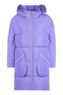 Куртка фиолетового цвета Diego M