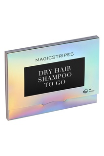 Dry Hair Shampoo TO GO сухой шампунь для волос, 50 листов Magicstripes