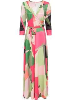 Длинные платья Платье с запахом Bonprix