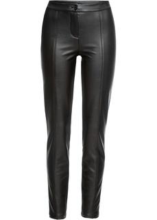 Повседневные брюки Брюки из искусственной кожи Bonprix