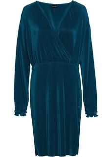 Короткие платья Платье из плиссированного материала Bonprix