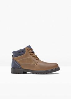 Ботинки кожаные Bonprix