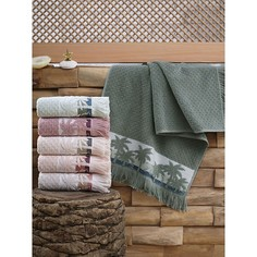 Набор из 6 банных полотенец (70x140 см) Palmiye Do&Co
