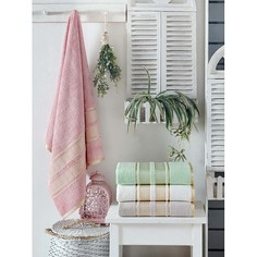 Набор из 4 банных полотенец (70x140 см) Pansy Do&Co