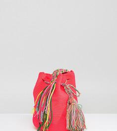 Ярко-розовая сумка Jardin Del Cielo-Розовый