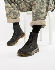 Черные ботинки Dr Martens Combs Tech-Черный