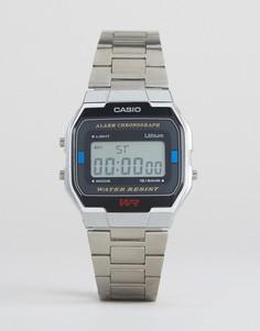 Цифровые часы Casio A163WA-1QES-Серебряный