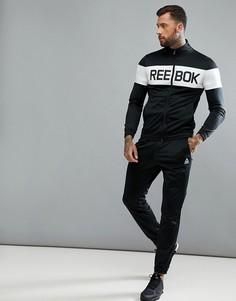 Черный спортивный костюм Reebok Training BQ5736