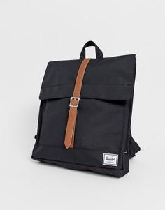 Черный рюкзак Herschel Supply Co city