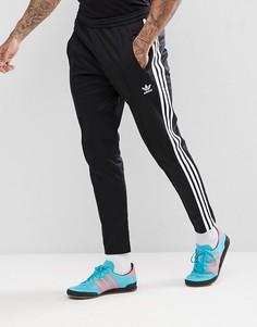 Черные джоггеры скинни adidas Originals adicolor beckenbauer cw1269-Черный