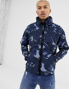 Спортивная куртка с капюшоном G-Star Strett-Синий