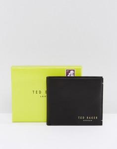 Кожаный бумажник Ted Baker Antony-Черный