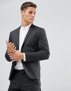 Пиджак Selected Homme-Серый