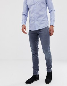 Дымчато-синие джинсы скинни ASOS DESIGN-Синий