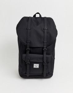 Черный рюкзак Herschel Supply Co Little America 25L