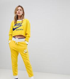 Желтые джоггеры Nike эксклюзивно для ASOS Archive-Желтый