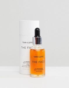 Средство для автозагара 30 мл от среднего до темного оттенка Tan Luxe The Face-Бесцветный