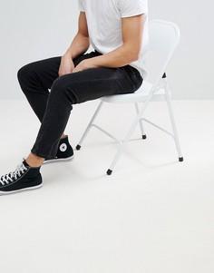 Черные джинсы скинни ASOS-Черный
