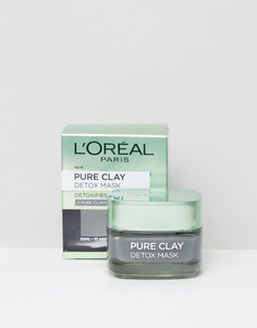Очищающая маска для лица LOreal Paris Pure Clay-Бесцветный LOreal
