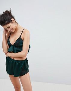 Комплект с бралеттом Ann Summers Dakota-Зеленый