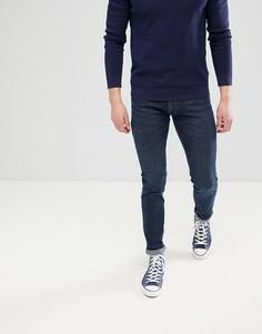 Темно-синие джинсы скинни Lee Jeans Luke-Синий