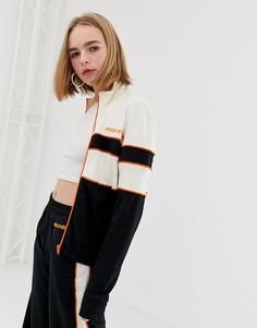 Спортивная куртка с контрастными вставками House of Holland Missy-Черный
