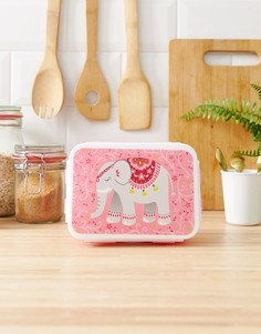 Коробка для завтрака с рисунком слона Sass & Belle-Мульти