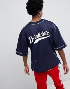 Бейсбольная оверсайз-футболка с логотипом D-Antidote-Черный Fila