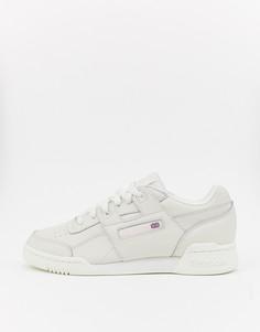 Низкие кроссовки Reebok Workout-Белый
