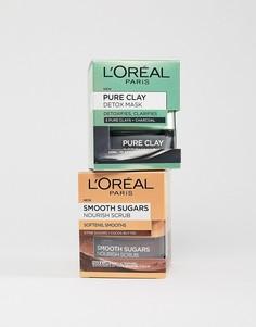 Набор очищающих средств LOreal Essential - СКИДКА 16%-Бесцветный LOreal