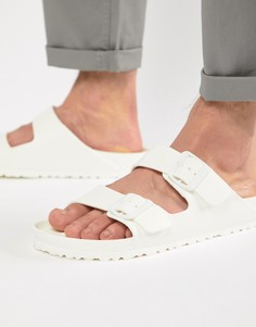 Белые сандалии Birkenstock Arizona EVA-Белый