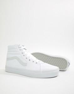 Высокие белые кроссовки Vans Sk8 VN000D5IW001-Белый
