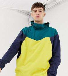 Куртка в стиле колор блок COLLUSION-Синий