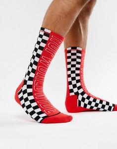 Красные носки с логотипом HUF-Красный