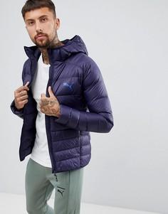 Темно-синяя складывающаяся куртка с капюшоном Puma 85162106-Темно-синий