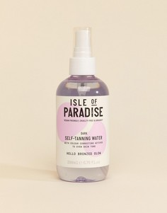 Автозагар на водной основе Isle of Paradise - Dark, 200 мл-Бесцветный
