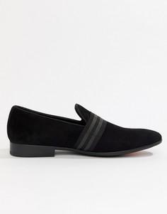 Черные бархатные лоферы ALDO Asaria-Черный